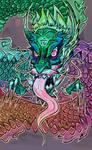 Dragon by mumblingmisfit