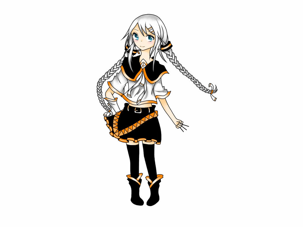 [UTAU] Nemune Hasami - Full Body by RainyDays27