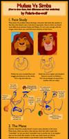 Mufasa VS Simba Tutorial