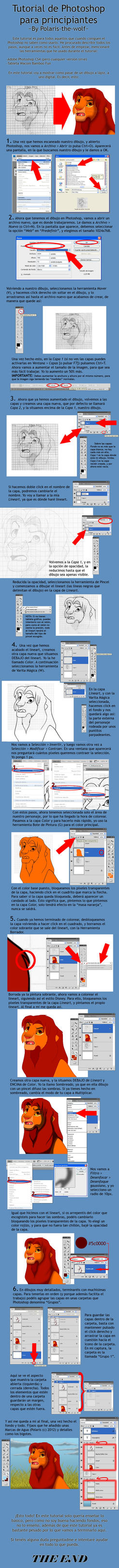 Tutorial Basico para Photoshop by RakPolaris