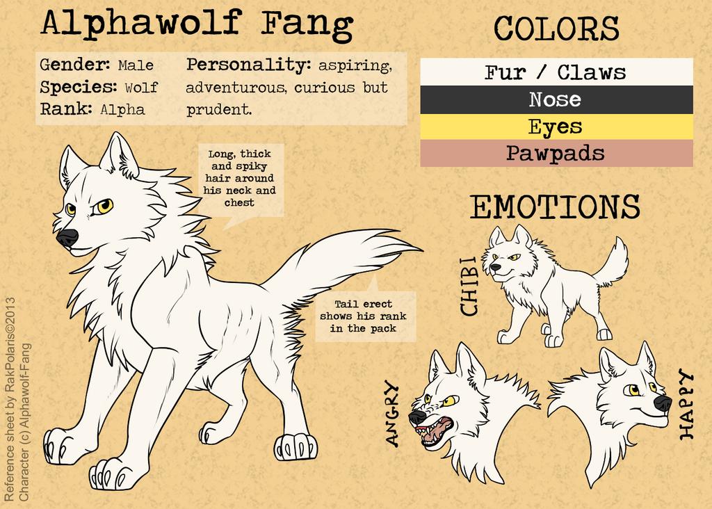 Commisison for Alphawolf-Fang by RakPolaris