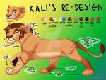 Entry for Kali's re-design