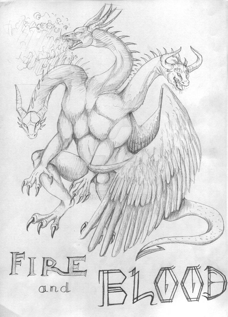 Targaryen's sigil by RakPolaris