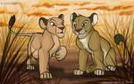TLK - Simba's and Nala's new looks