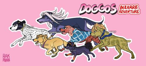 JJBA: Vento Aureo - Dogs Edition