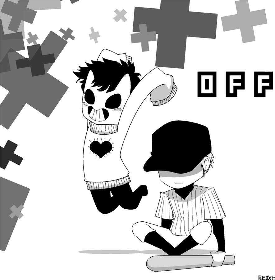 chibi zacharie and batter by rexxe on deviantart