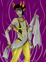 Psiioniic Dancer by SilverNightDragon