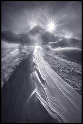 Blizzard Mountain by MarcAdamus