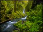 Fairyland Falls by MarcAdamus