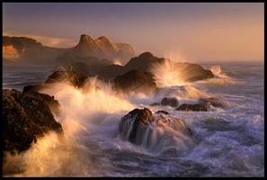 Ocean's Fury by MarcAdamus