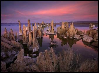 Mono Lake, Twilight by MarcAdamus