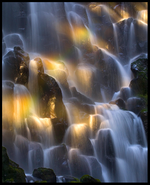 Rainbow Falls by MarcAdamus