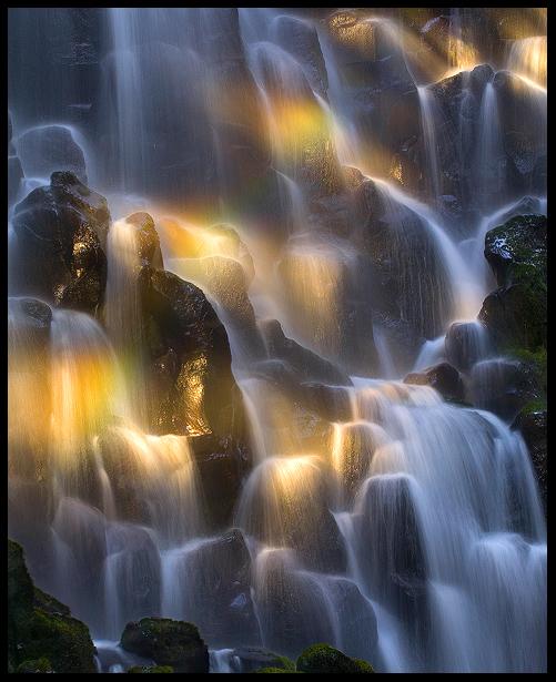 Rainbow Falls by MarcAdamus