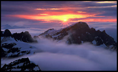 Temple of the Clouds by MarcAdamus