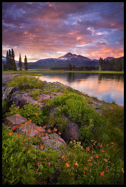 Columbine Island Sunset by MarcAdamus