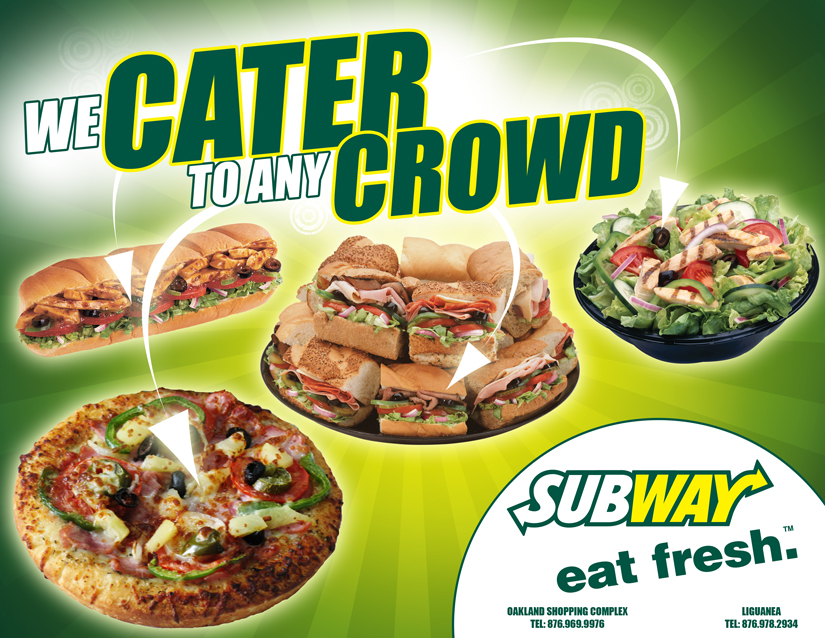 All You Need Subway Catering