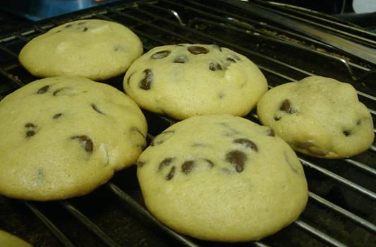 Chocolate chip Macadamia Cookies
