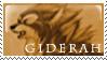 Giderah Stamp by PlainYellowFox