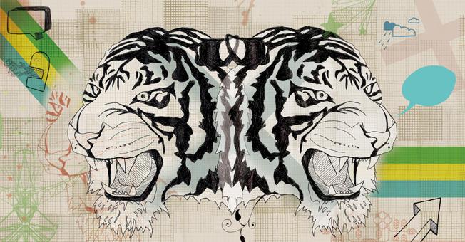 Tiger Tiger by fudgekiller