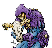 Skeletor gets my goat by marioncobretti