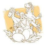 Egg hunt (sketch)