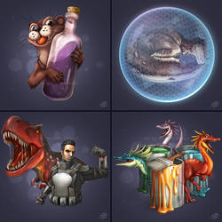 Some another ARK stuff (icons, pt.2) ~commission