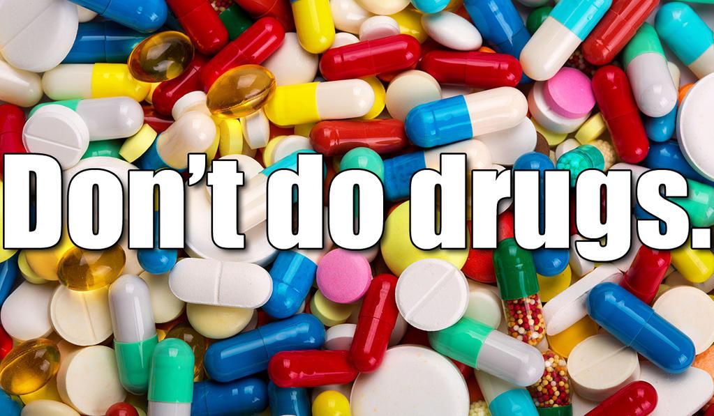 Don't Do Drugs by BlackTshirtFan