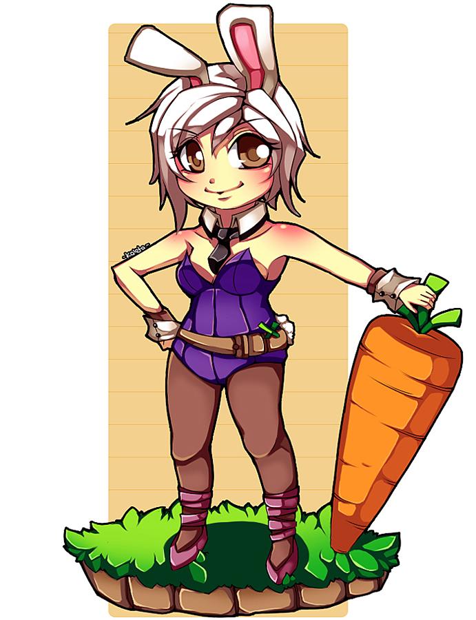 LoL: Bunny Riven by Kaleta