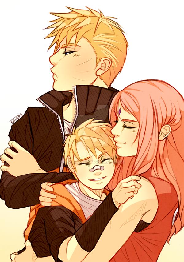Naruto: Jealous father by Kaleta