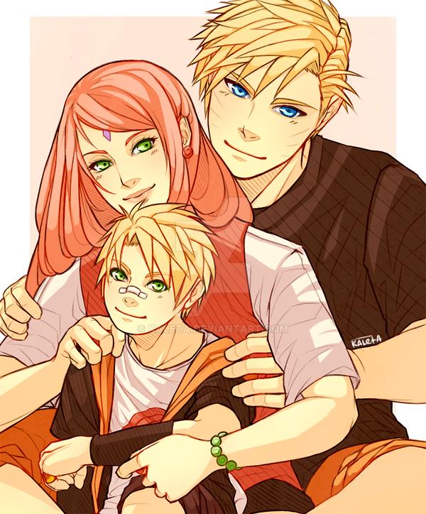 Naruto: Narusaku Holiday Exchange by Kaleta on DeviantArt