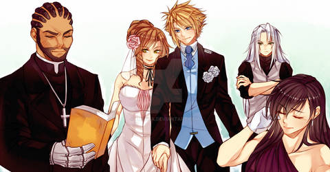 FFVII: Clerith Wedding
