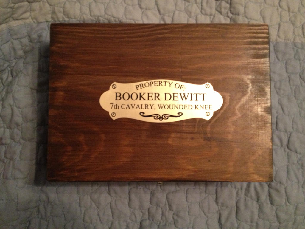 Replica of Booker DeWitts personal box (UPDATED) by musky4489