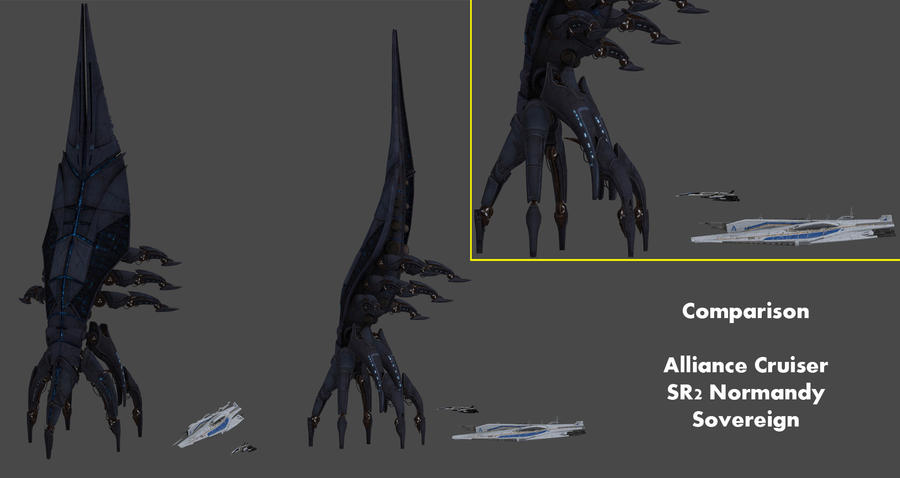 Серия Mass Effect Comparison_sovereign__alliance_cruiser_and_sr2_nor_by_nach77-d5cfjb1