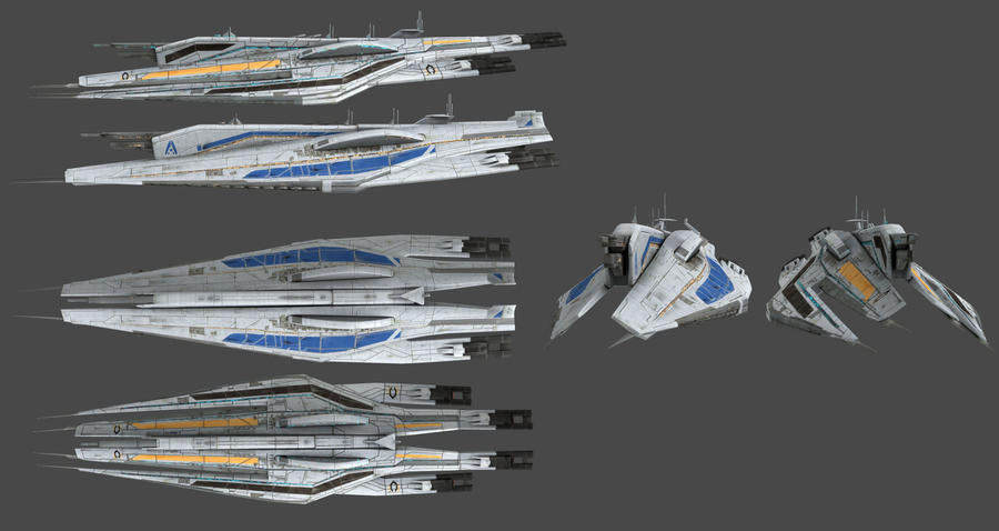 Alliance Fleet Ready Masseffect