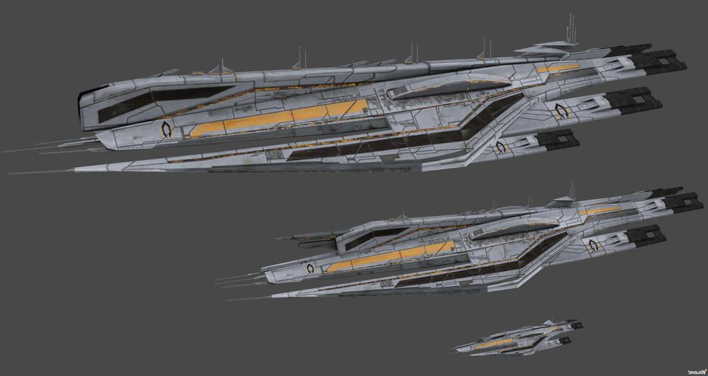 Cerberus Ships Concept by nach77 on DeviantArt