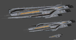 Cerberus Ships Concept by nach77