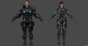 Shepard Clone by nach77