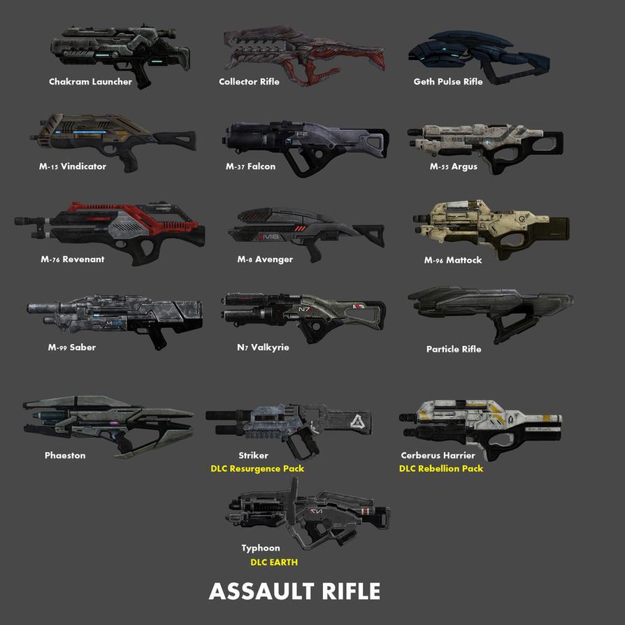 Assault Rifle by nach77