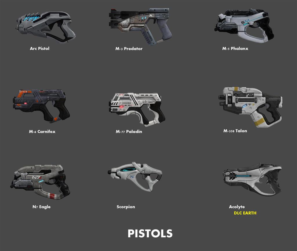 Pistols by nach77