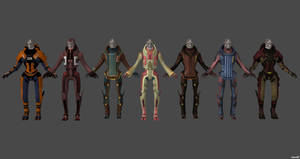 Turian Casual Pack by nach77