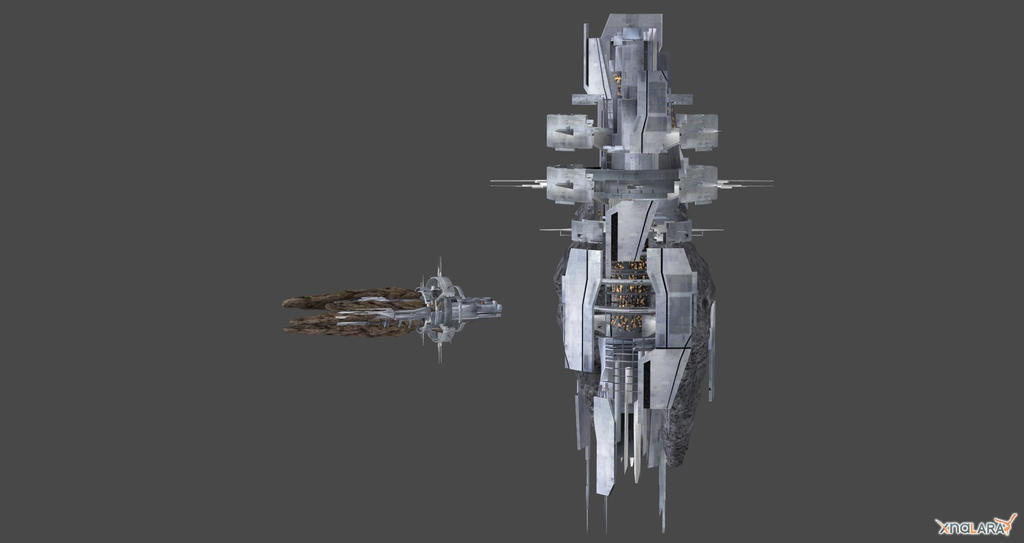Collector Base And Ship By Nach77 On DeviantArt