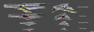 Turians Ships Concept