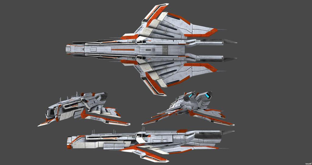 Turian Dreadnought Concept Views by nach77