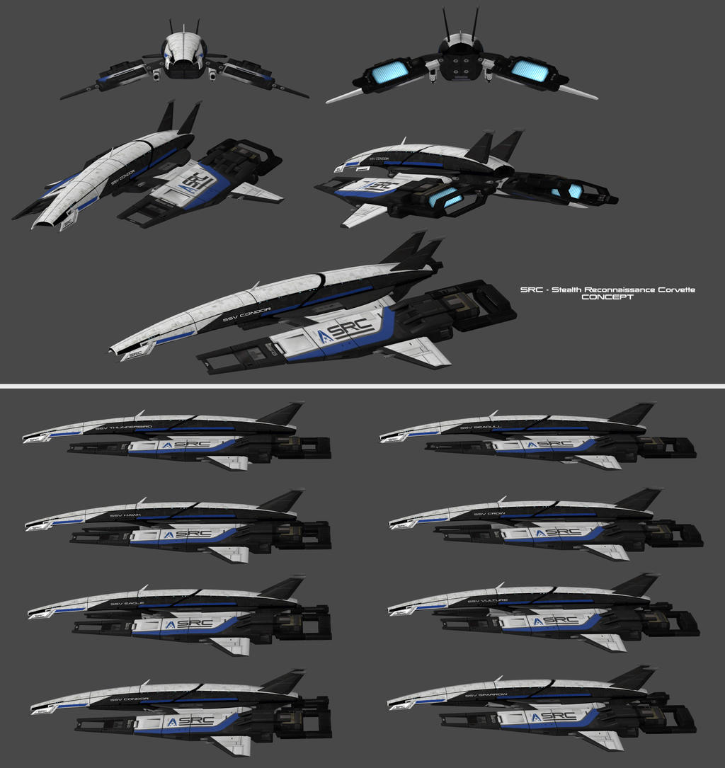 Spaceship Mass Effect Design Plans