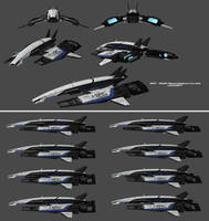 Alliance Corvette Condor Class Concept by nach77