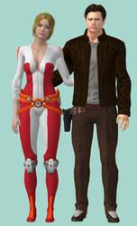 Eva and Jack by nach77