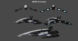 SR3 Concept Frigate