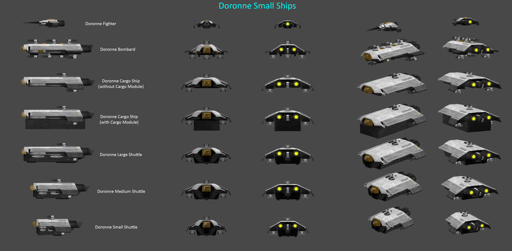 Doronne's Small Ships by nach77