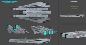 Alliance Mobile Fortress Hercules Class by nach77
