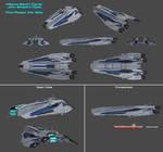 Alliance Escort Carrier Shepard Class